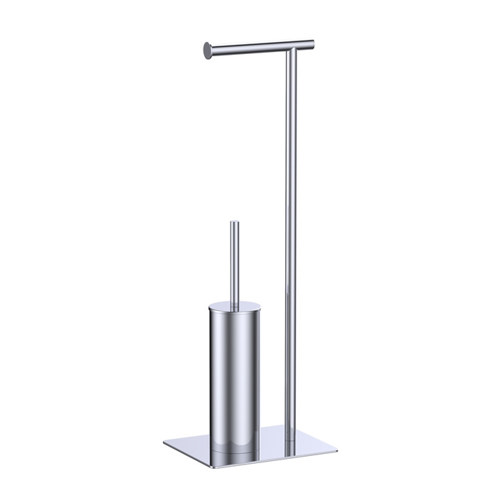Freestanding Toilet Paper Holder And Brush Holder 10007